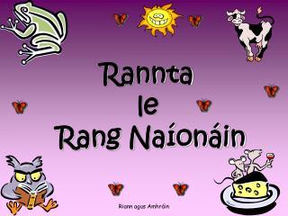 Rannta le  Rang Na�on�in