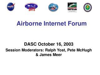 Airborne Internet Forum