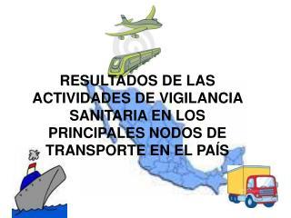 ACTIVIDADES DE VIGILANCIA SANITARIA