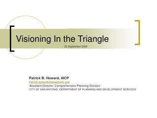 Visioning In the Triangle