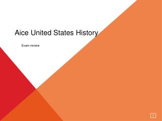 Aice United States History
