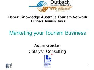 Marketing your Tourism Business