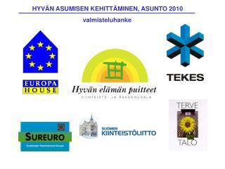 HYVÄN ASUMISEN KEHITTÄMINEN, ASUNTO 2010