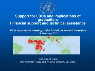 Rob Vos, Director Development Policy and Analysis Division, UN-DESA
