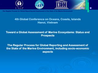4th Global Conference on Oceans, Coasts, Islands Hanoi, Vietnam