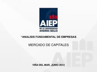 �ANALISIS FUNDAMENTAL DE EMPRESAS MERCADO DE CAPITALES