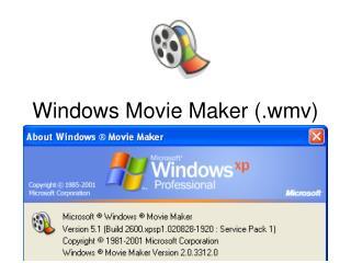 Windows Movie Maker (.wmv)