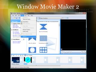 Window Movie Maker 2