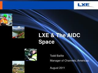 LXE & The AIDC Space