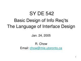 SY DE 542