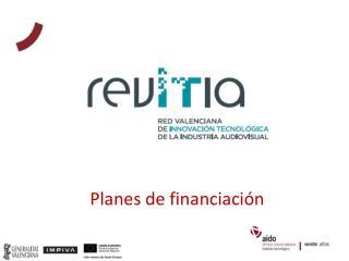 Planes de financiación