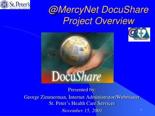@MercyNet DocuShare Project Overview