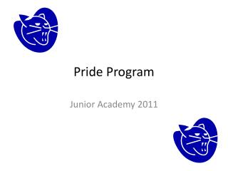 Pride Program