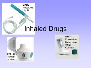 Inhaled Drugs