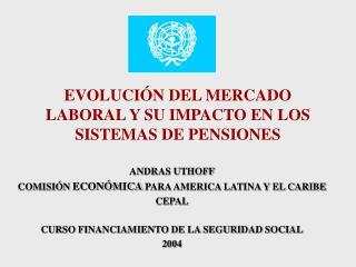 EVOLUCI�N DEL MERCADO LABORAL Y SU IMPACTO EN LOS SISTEMAS DE PENSIONES
