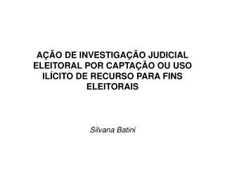 Silvana Batini