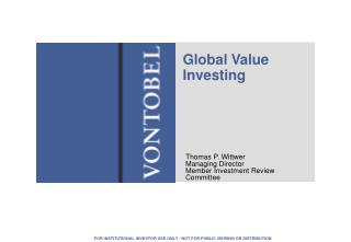 Global Value Investing