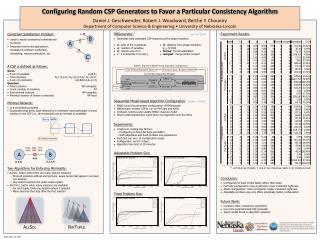 Configuring Random CSP Generators to Favor a Particular Consistency Algorithm