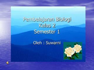 Pembelajaran Biologi  Kelas 2 Semester 1