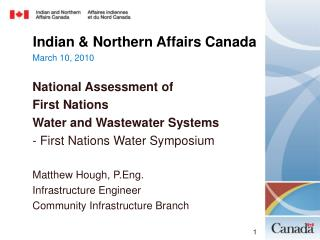 Indian & Northern Affairs Canada