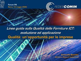 Forum PA Roma, 10 maggio 2006