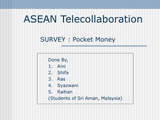 ASEAN Telecollaboration