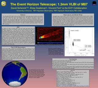 The Event Horizon Telescope: 1.3mm VLBI of M87