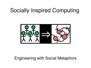 Socially Inspired Computing