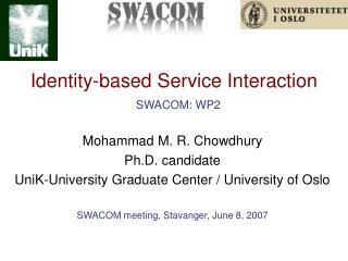 Identity-based Service Interaction