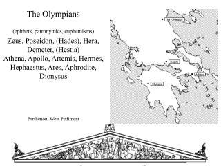 "sky, ""cloud-gatherer""  lightning (epiphany,  kataibatês ), aegis eagle, bull, oak Crete, Olympia"