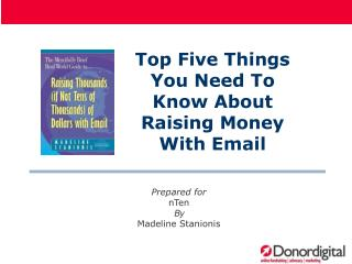 Top Five Things You Need To Know About Raising Money With Email