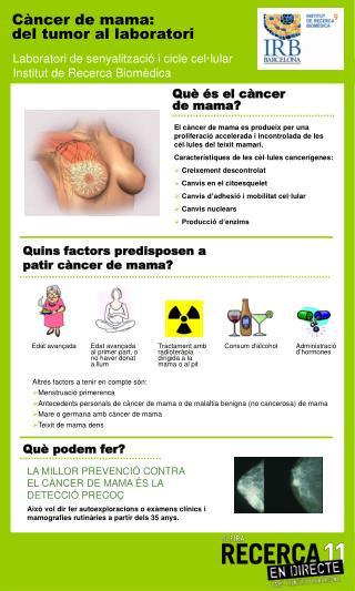 Quins factors predisposen a patir c�ncer de mama?