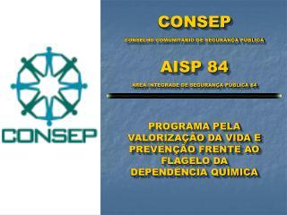 CONSEP CONSELHO COMUNITÁRIO DE SEGURANÇA PÚBLICA