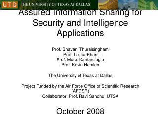 Assured Information Sharing