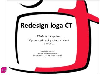 Redesign loga ČT