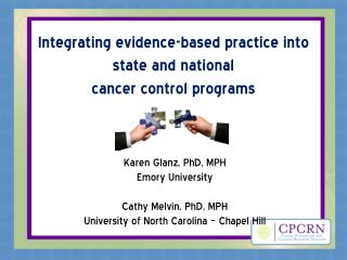 Integrating evidence-based practice into state and national  cancer control programs