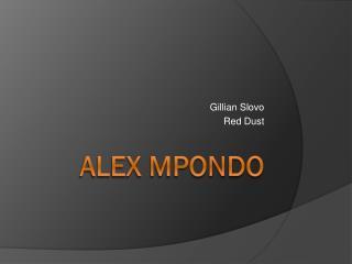 Alex Mpondo