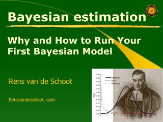 Bayesian estimation  Why and How to Run Your First Bayesian Model