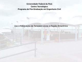 Uso e Adequa��o de Tensoestruturas � Regi�o Amaz�nica