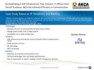 Case Study Based on IP Telephony and Mobility