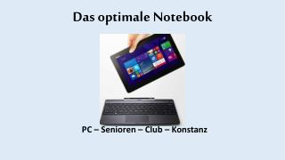 Das optimale Notebook