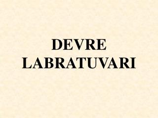 DEVRE LABRATUVARI