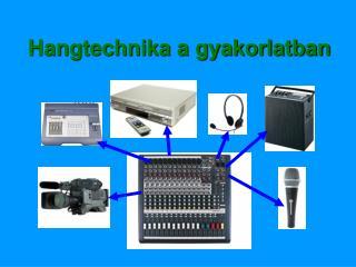 Hangtechnika a gyakorlatban