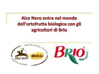 Alce Nero entra nel mondo dell'ortofrutta biologica con gli agricoltori di Brio