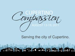 Serving the city of Cupertino.