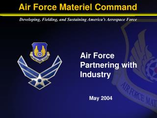 Air Force Partnering with Industry