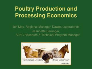 Poultry Production and Processing Economics