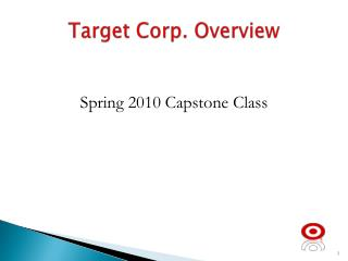 Target Corp. Overview