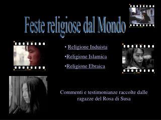 Feste religiose dal Mondo
