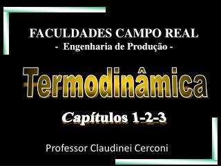 FACULDADES CAMPO REAL -   Engenharia de Produção  -
